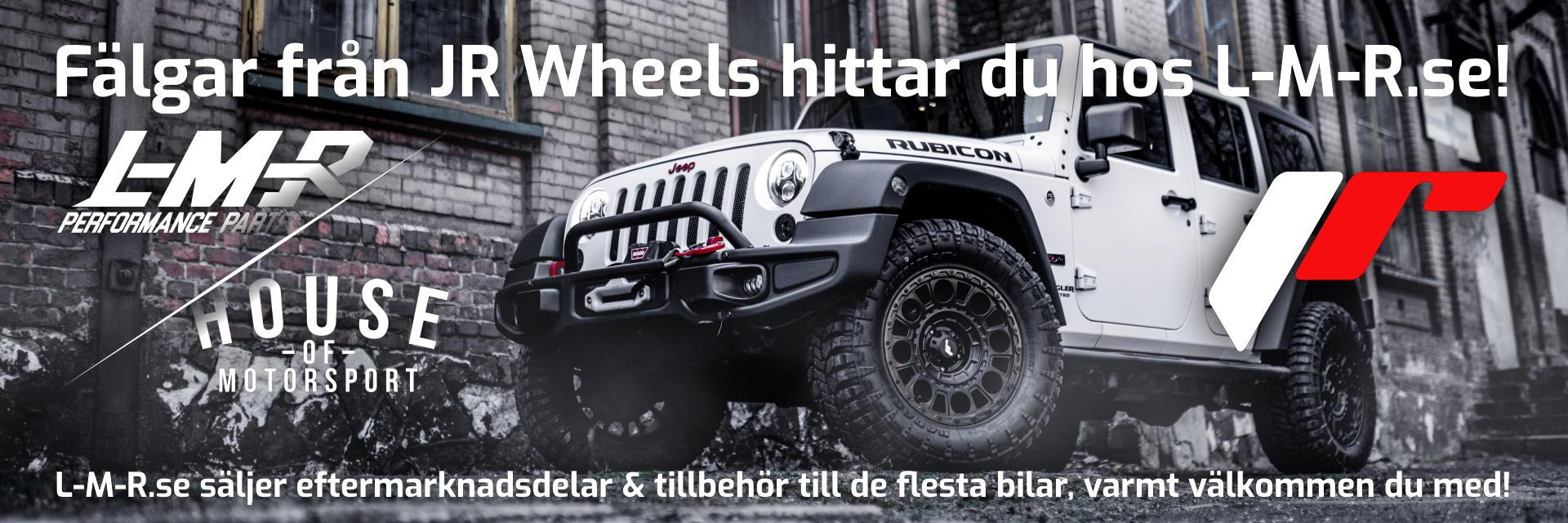 JR Wheels fälgar hittar du hos L-M-R.se